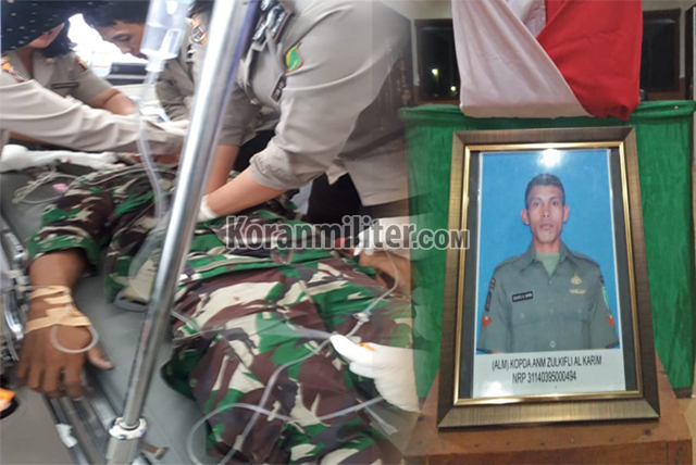 Praka Zulkifli, Prajurit TNI Yang Gugur Usai Dibacok Massa Saat Beristirahat