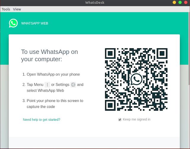whatsapp ubuntu linux