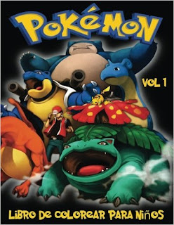 Pokemon Libro De Colorear Para Ninos Volume 1 PDF