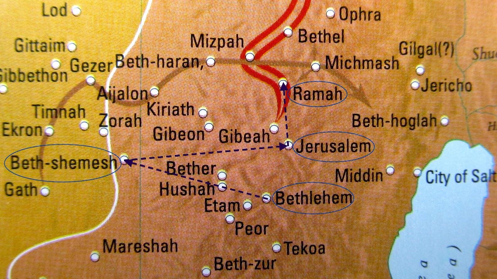 Beth Shemesh Bible Maps: Roma, The Eternal City Is Rama, The Universal Deity