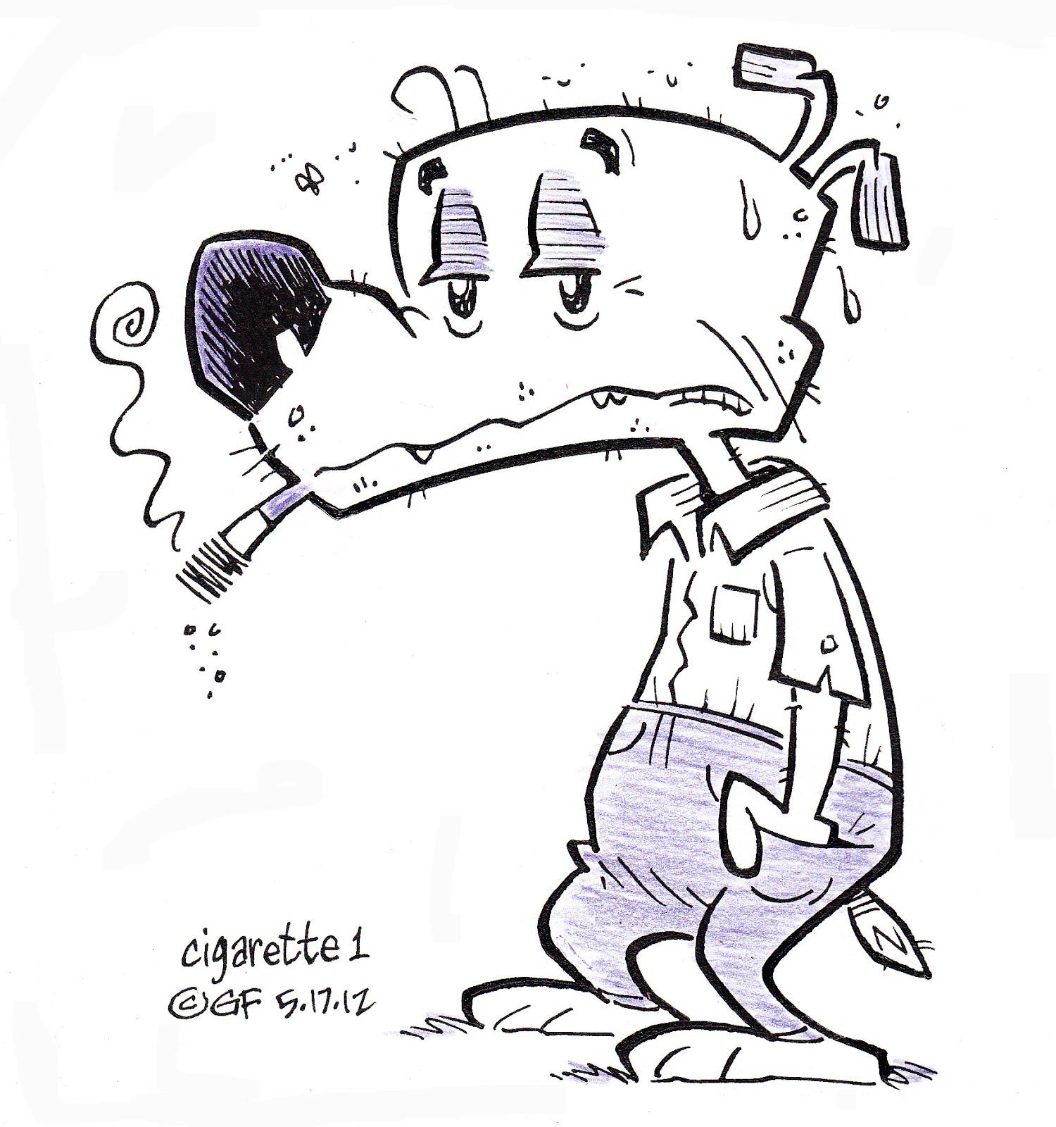 Gary Fields Studios Blog Cigarette 1