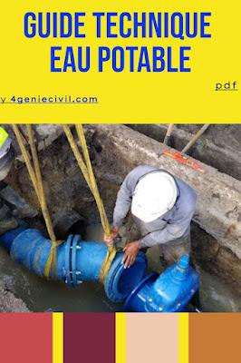 guide technique eau potable pdf