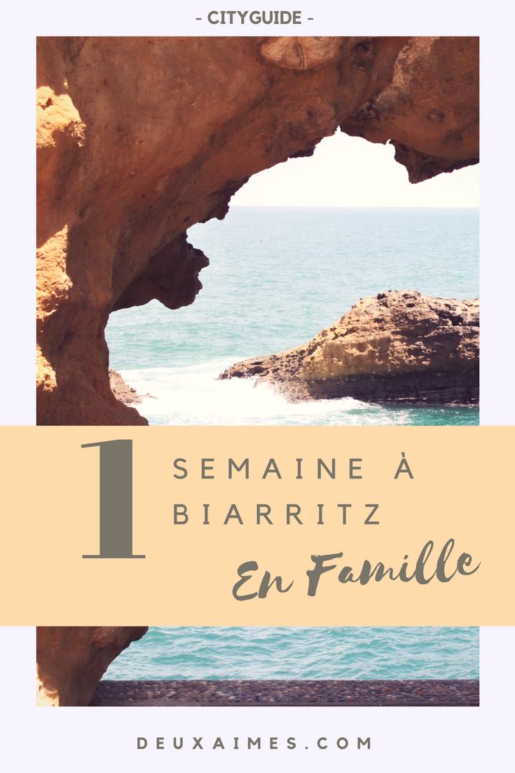 CITYGUIDE BIARRITZ - Pays Basque en famille - Restaurant - Activités - Bons plans - Visites - DeuxAimes