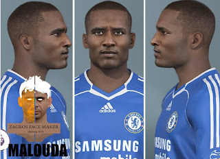 PES 2021 Faces Florent Malouda by Alireza