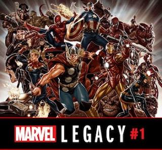 Marvel Legacy #1 - Brooks Variant