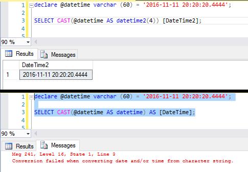 Sql server convert string to datetime out of range