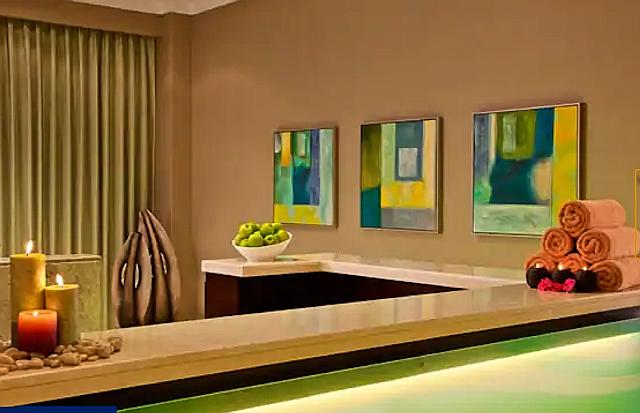 DoubleTree by Hilton Ras al Khaimah hotellissa on spa