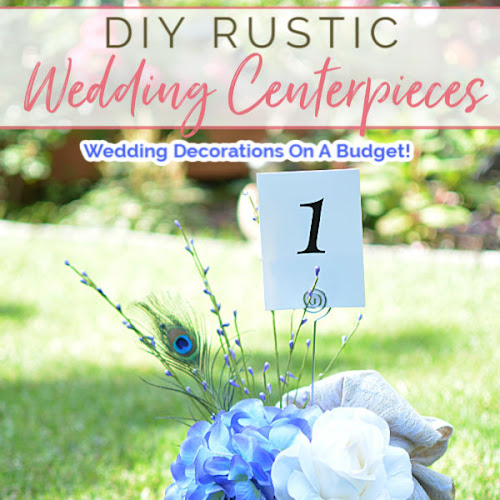 DIY Wooden Love Heart Rustic Wedding Centerpieces