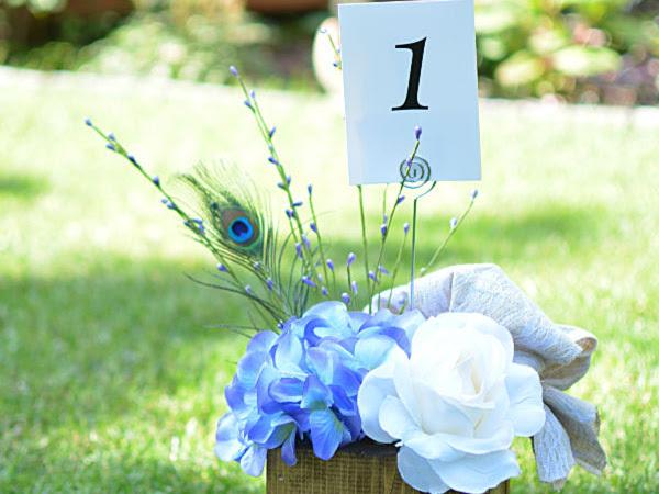 DIY Wooden Love Heart Rustic Wedding Centerpieces