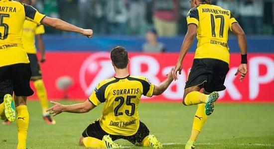 HIGHLIGHTS Champions League: Legia-Borussia Dortmund 0-6