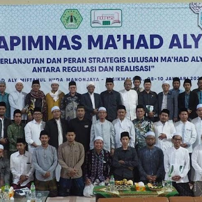 Rapinmnas Ma'had Aly Bahas Program Kerja dan Lahirkan Beberapa Rekomendasi