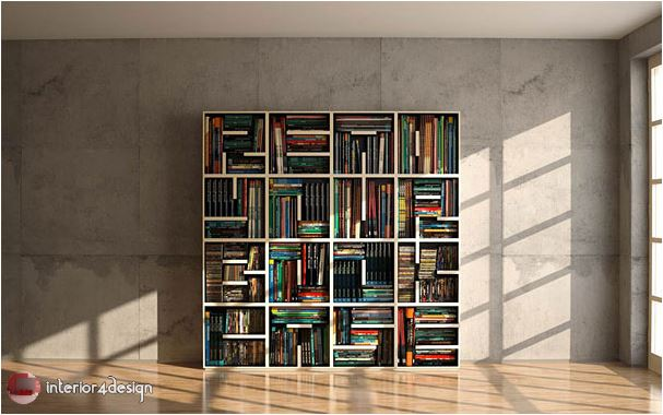 70 Best Bookshelf Designs 36