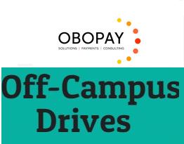 OBOPAY Off Campus Drive Registration | B.E/ B.Tech 2019 Batch Freshers