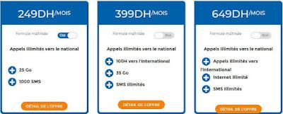 فورفي لامحدود اتصالات المغرب ابتداءً من 249 درهم في الشهر
