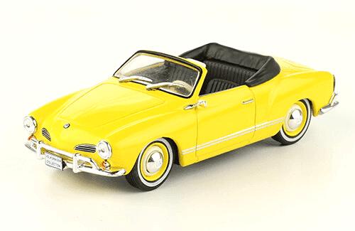 volkswagen Karmann Ghia convertible 1960 1:43, volkswagen collection, colección volkswagen méxico