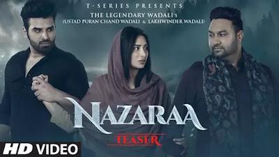 Nazaraa Lyrics Paras Chhabra, Mahira Sharma