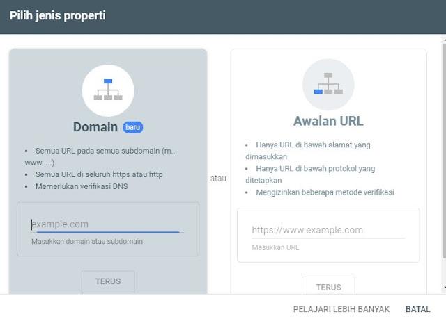 Cara Mendaftarkan Blog ke Google Lewat Search Console