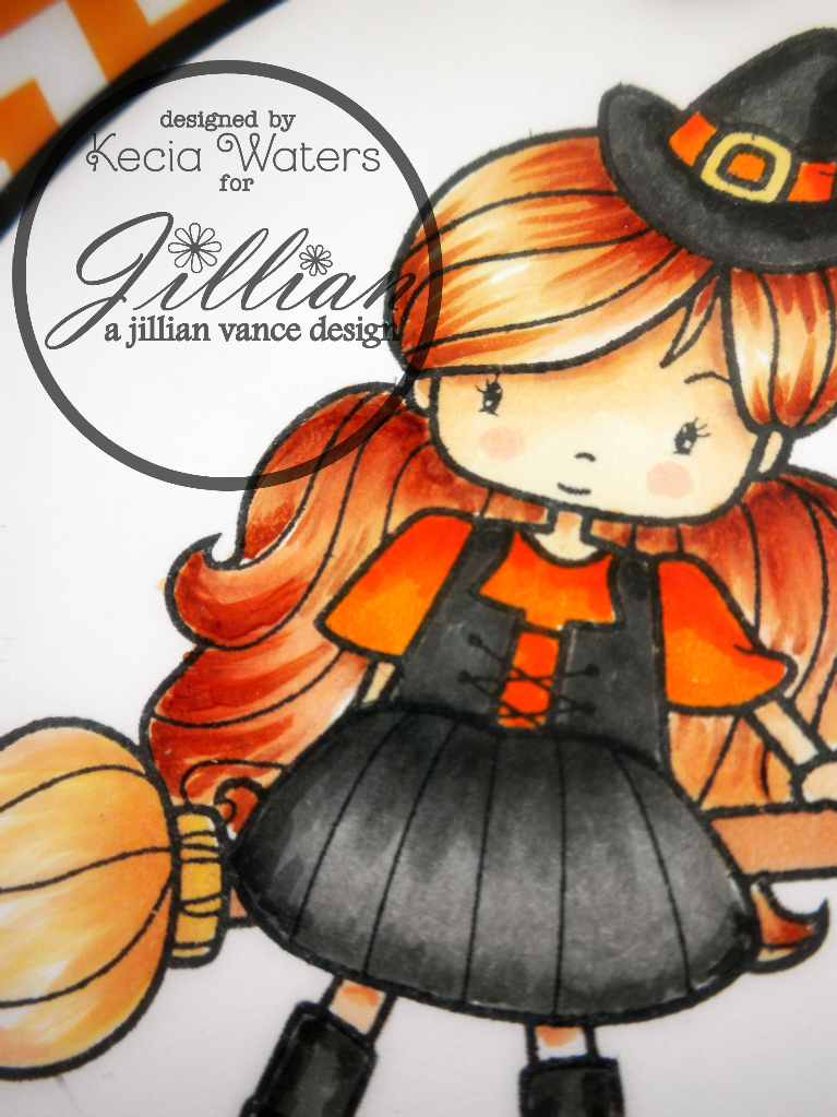 AJVD, Whimsie Dooles, Kecia Waters, Copic markers