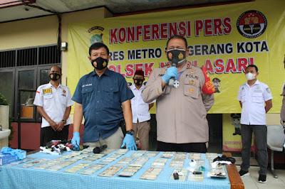 Modus Penipuan Dan Penggelapan Kendaraan Bermotor Di Kota Tangerang, Korantangsel.com