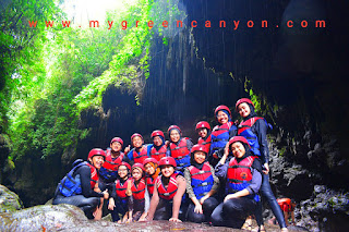 Lokasi utama green canyon