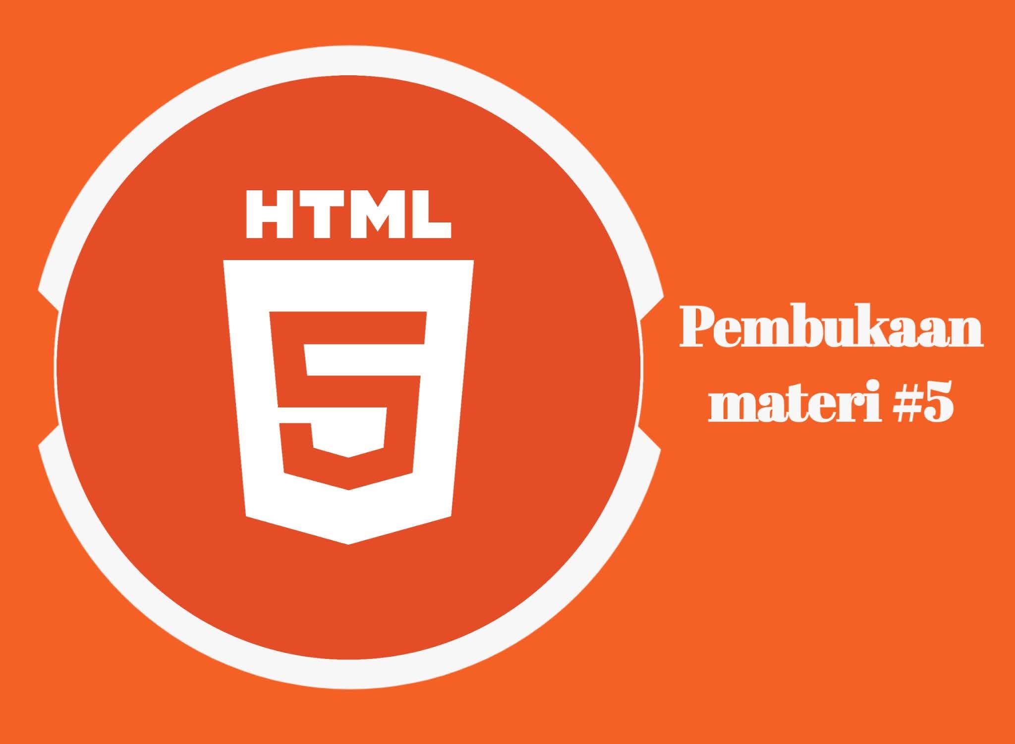 HTML Logo Pembukaan