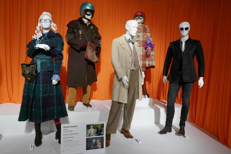 Screen-worn Good Omens costumes
