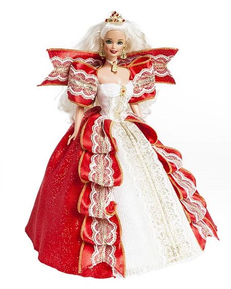 Barbie Coleção Feliz Natal 1997