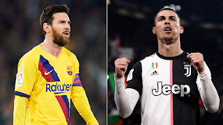 Messi: Ronaldo is a predatory striker and it's only normal when he scores