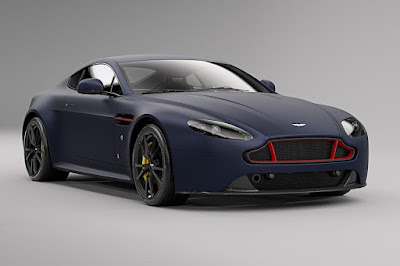 Aston Martin V8 Vantage S Red Bull Racing Edition (2017) Front Side