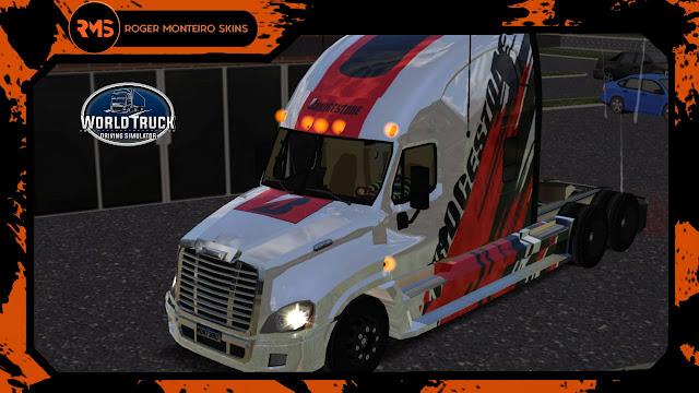 ROGER MONTEIRO SKINS - SKINS WTDS - SKINS WORLD TRUCK DRIVING SIMULATOR