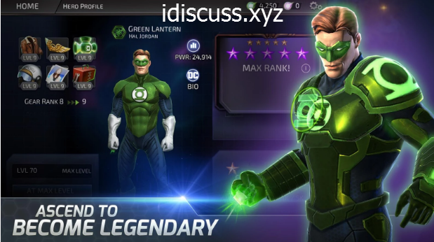 DC legends mod apk unlimited health