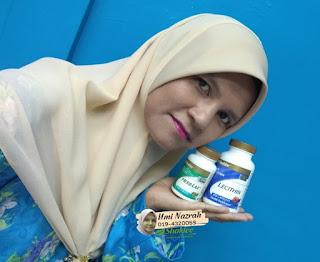 uminazrah.com menang hadiah utama RM100 dari lieyzanordin.com