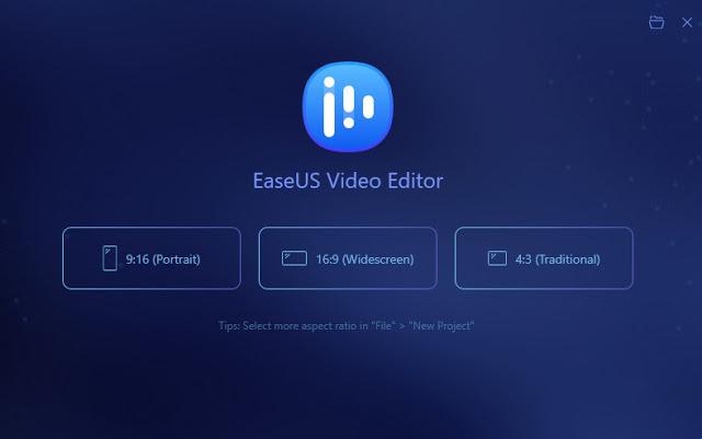 Screenshot EaseUS Video Editor 1.5.7.28 Full Version
