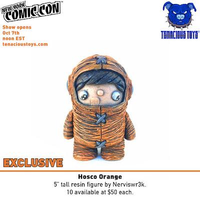 New York Comic Con 2020 Exclusive Hosco Orange Edition Resin Figure by Nerviswr3k x Tenacious Toys
