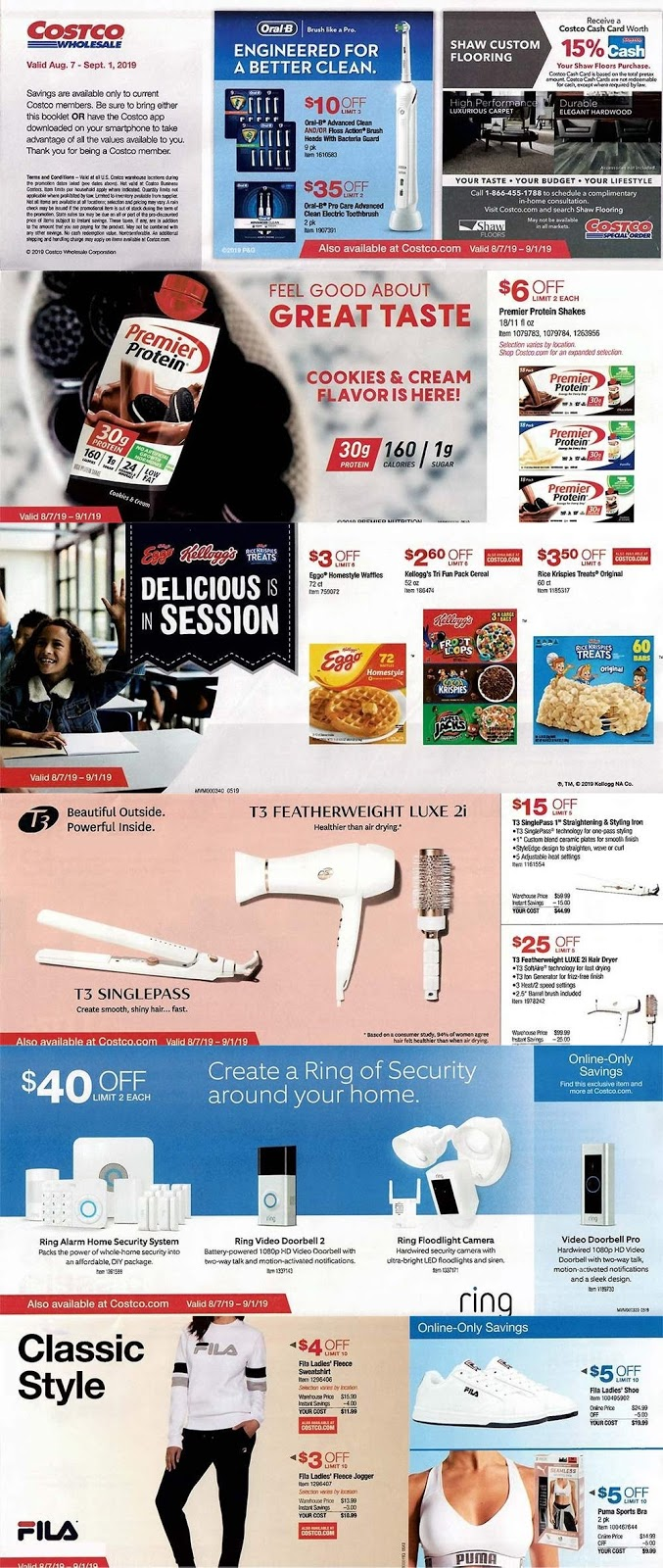 5951ececfed Costco Weekly Ad & Coupon Book August 2019