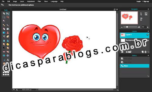 Como criar ou editar imagens online