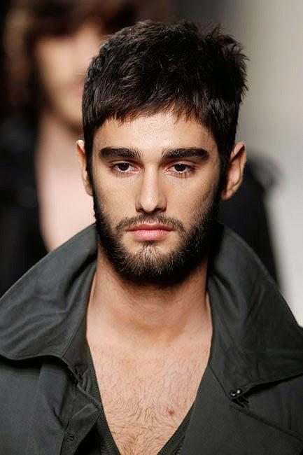 Cómo conseguir un peinados con barba Fotos de los cortes de pelo de las tendencias - Cortes Peinados y Color: Bigote y Barba 2014