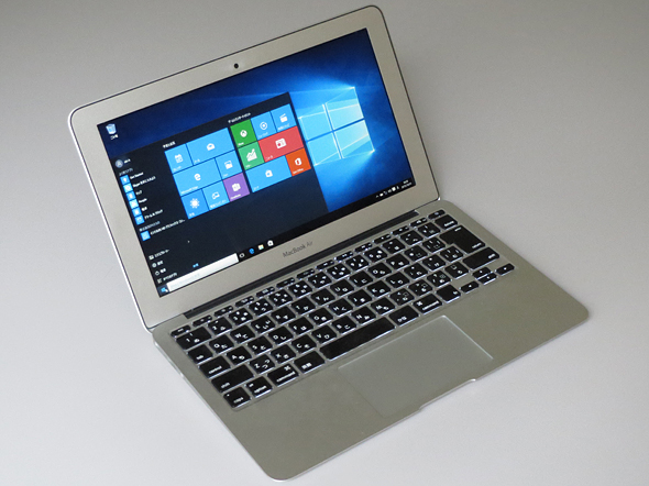 windows 10 berjalan Macbook