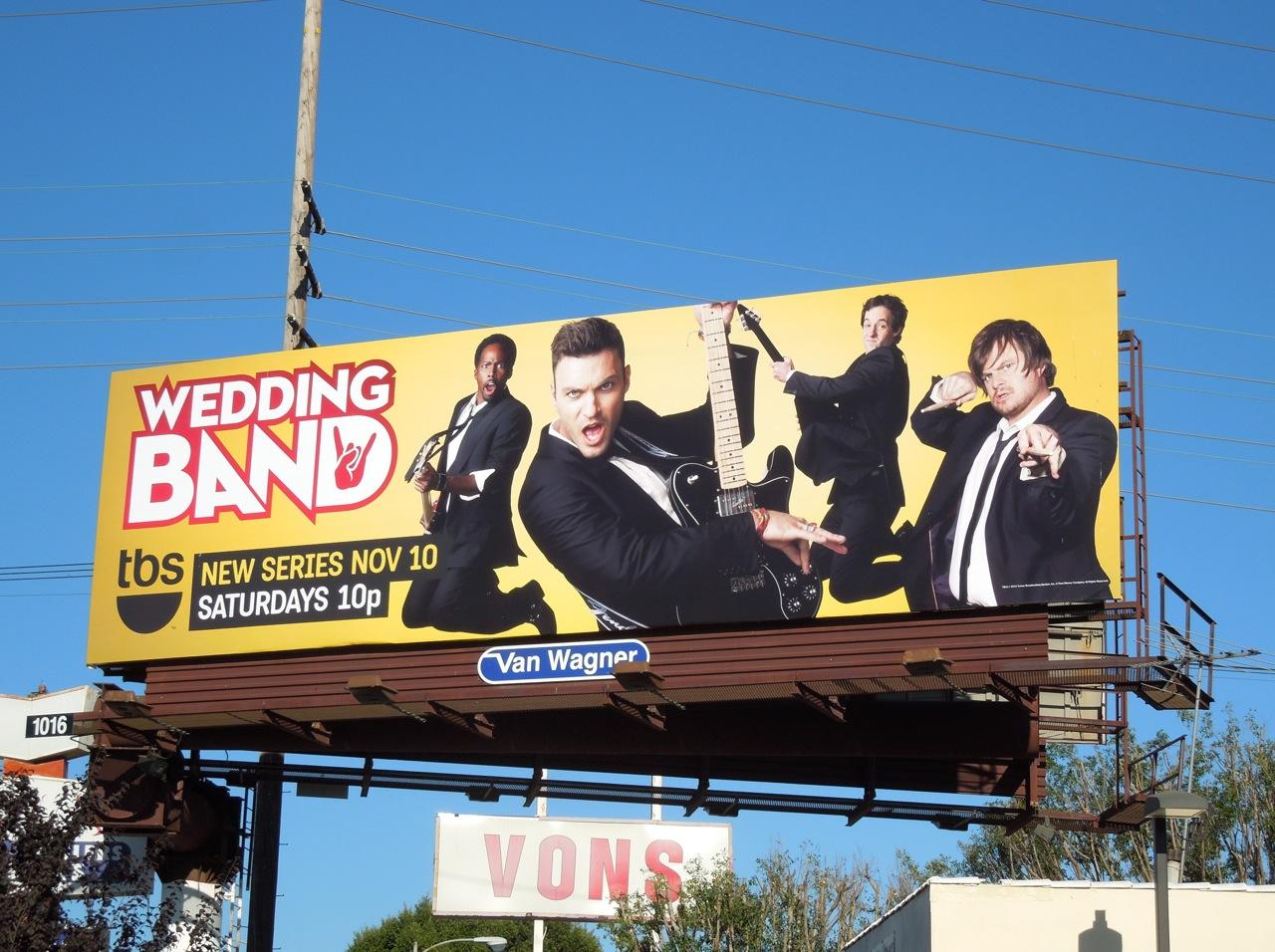 daily billboard wedding band series premiere tv billboards
