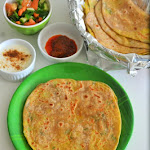 Aloo Paratha Recipe | Paratha with Potato Stuffing | Stuffed Paratha