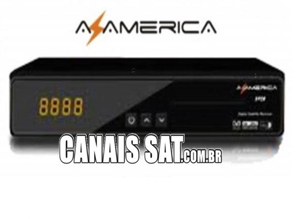 Azamerica S928 em Cinebox Supremo Atualização Modificada 61w ON - 02/11/2020