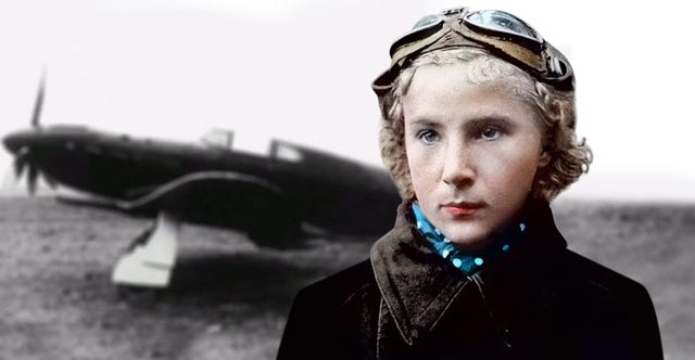 Lydia Litvyak, fighter ace of World War II worldwartwo.filminspector.com