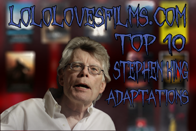 Lolo Loves Films top 10 best Stephen King movie adaptations list