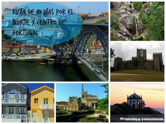 Ruta en coche por el norte y centro de Portugal