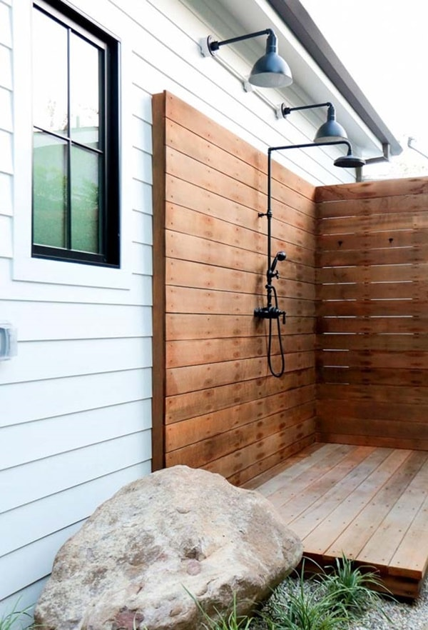Fall In Love With Outdoor Showers - How To Build 5