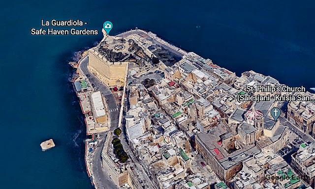 Mirante de Il-Gardjola, Senglea, Malta
