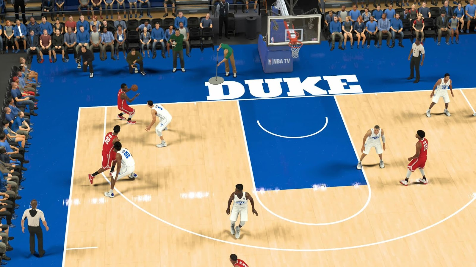 How to Play College basketball in NBA 2k17 : NCAA 2k17 Custom Roster Download (PS4) - HoopsVilla