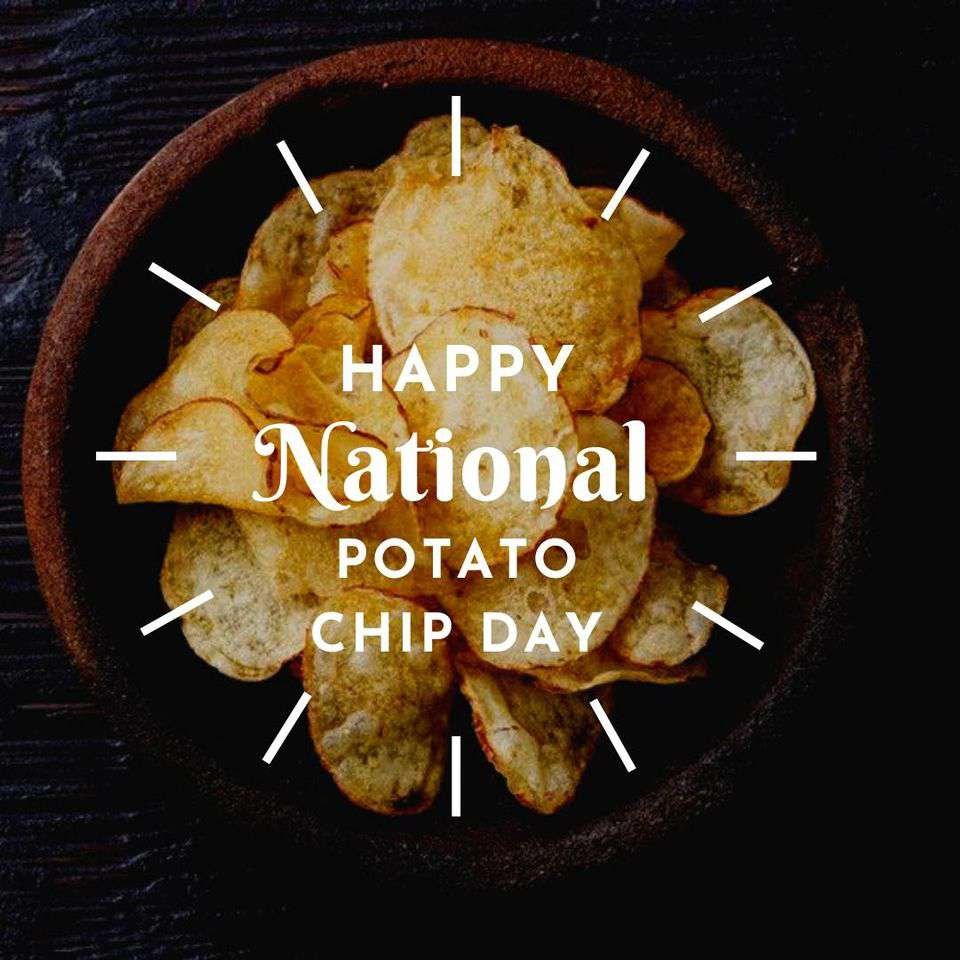 National Potato Chip Day Wishes Images