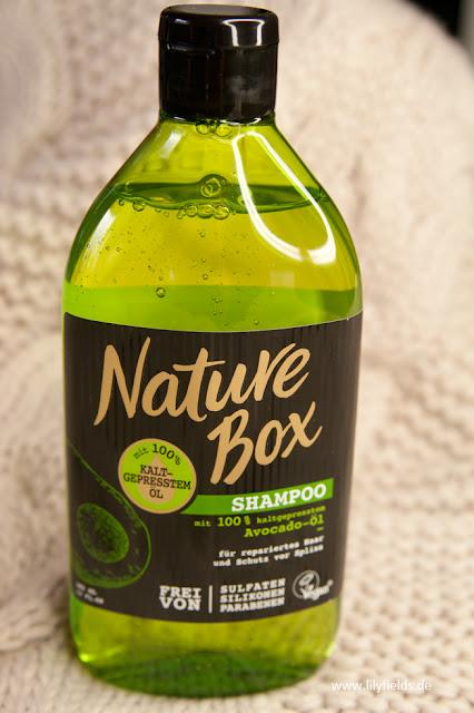 Nature Box - Shampoo mit 100% kaltgepressten Avocado-Öl