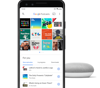 Are you using Google Podcast App ?